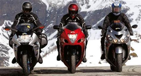 Motorrad Auspuff Test Bmw K 1200 S by Bmw K 1200 S Kawasaki Zzr 1400 Suzuki Hayabusa 1300