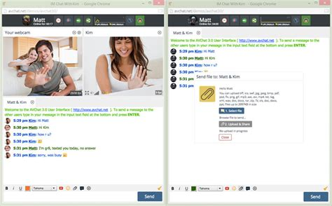 live free chat room instant group video chat software for your website