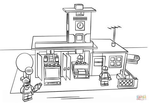 lego vire coloring pages desenho de lego corpo de bombeiros para colorir desenhos