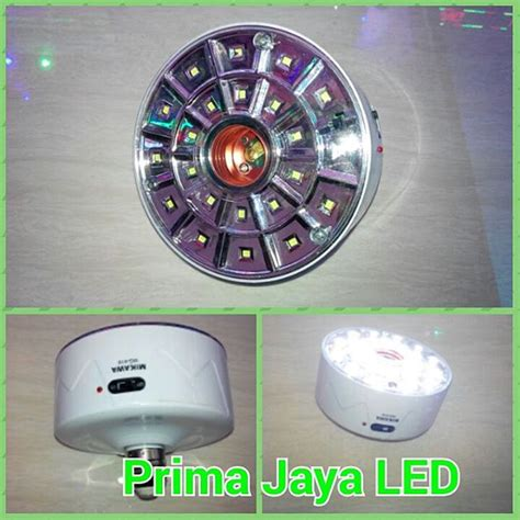 Lu Emergency Pakai Remote Emergency Led Fitting E27 Remote Prima Jaya Led