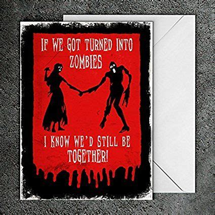 Horror Anniversary Cards