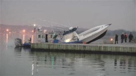 crash boat fishing moriches boat crash injures 3 fishermen saltwater