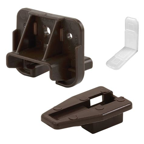 Dresser Drawer Brackets by Prime Line Drawer Track Guide And Glide 2 Pack R 7321