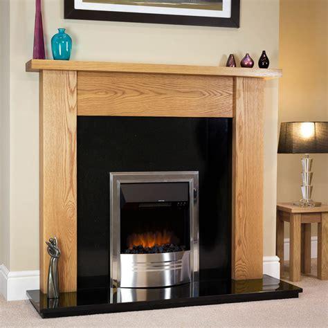 Fireplace Oak by Modern Oak Surround Oakfiresurrounds Co Uk