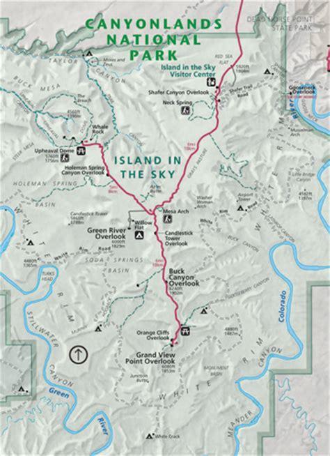 canyonlands national park map canyonlands national park utah card stanton studio