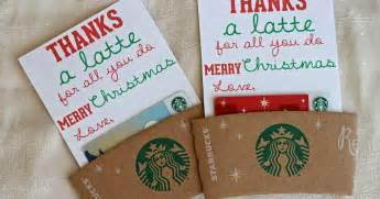 mandie starkey thanks a latte diy teacher christmas gift