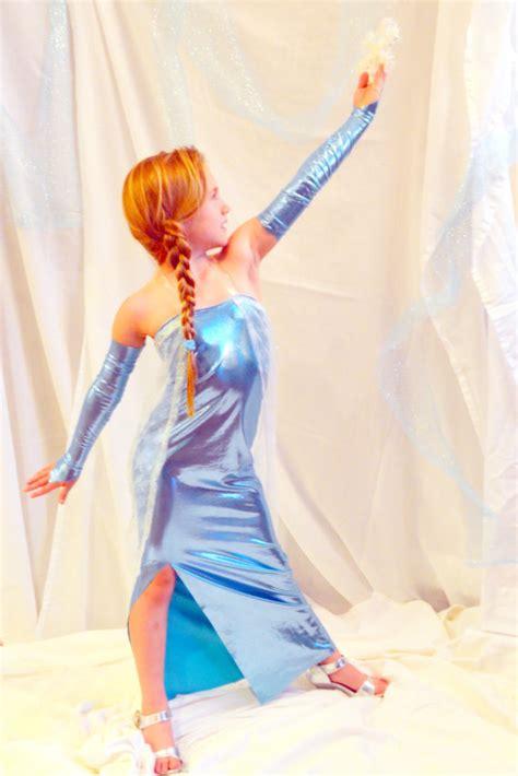 Elsa Dress Spandek items similar to elsa frozen costume dress on etsy