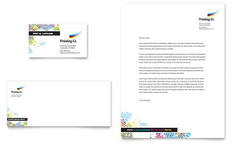 Business Letterhead Printing Services printing company business card letterhead template design