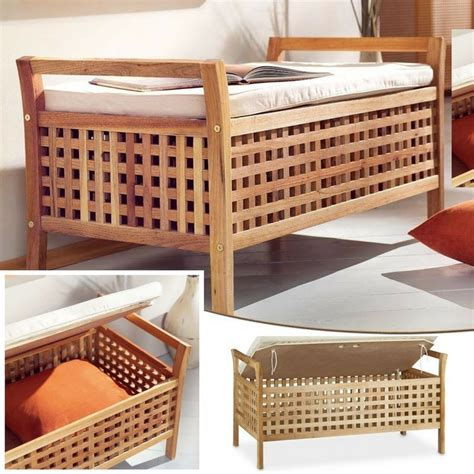 interno in legno cassapanca in legno da interno