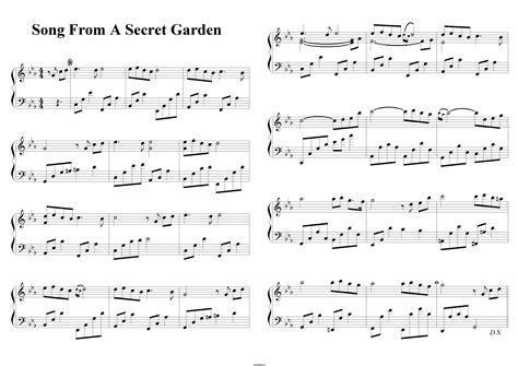 The Secret Garden Sparknotes by Song From A Secret Garden