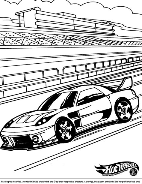 hot wheels race track coloring pages hot wheels racing league hot wheels coloring pages set 4