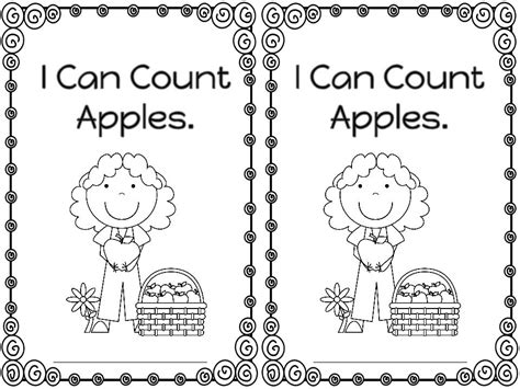 my apple counting book free mrs mcginnis zizzers numbers and apples