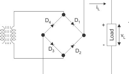 diode bridge waveform wave diode rectifier electrical4u