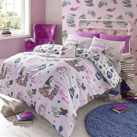 unicorn bedding girls single duvet cover sets bedding unicorn flower horse