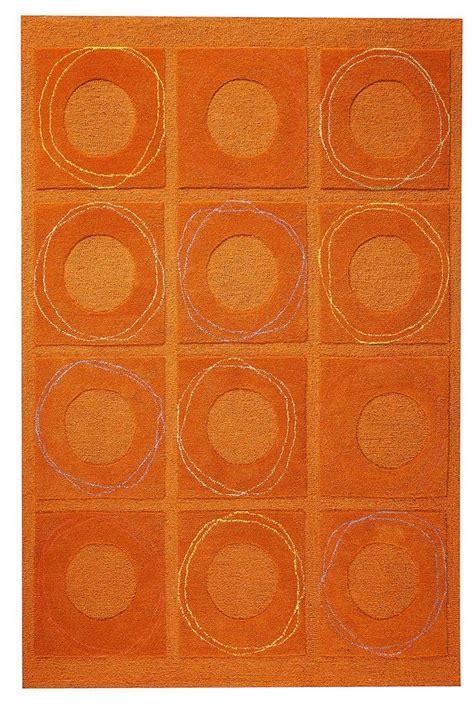 orange accent rug area rugs orange roselawnlutheran