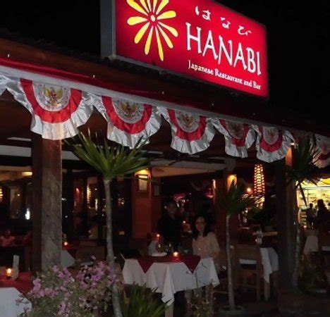 hanabi japanese restaurant  bar nusa dua restaurant