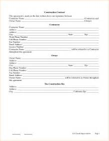 general construction contract template 4 general contractor contract template timeline template