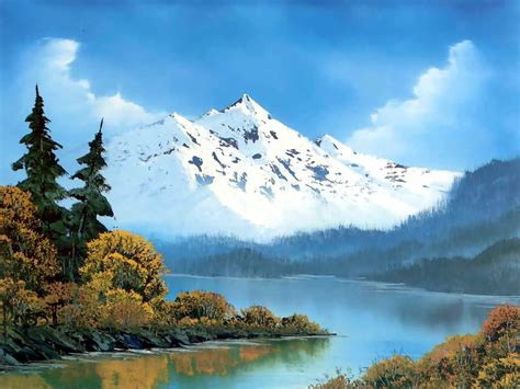 bob ross drawing painting brigham woolridge bob ross s lanscape