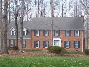 brick colonial house brick colonial home photos