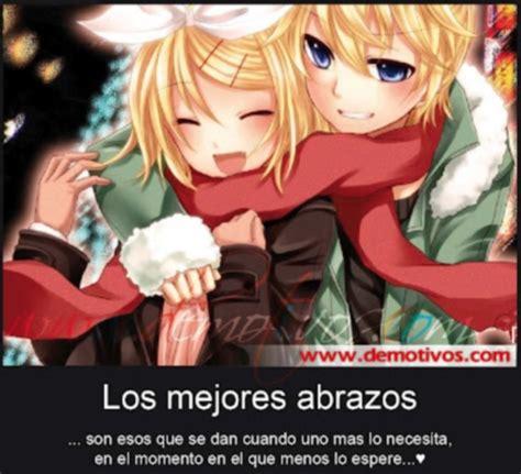 imagenes anime abrazos los mejores abrazos