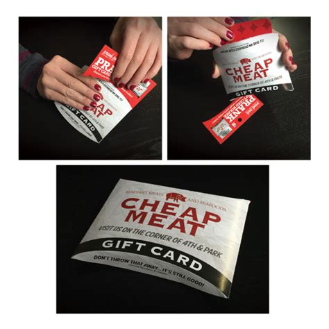 Cheap Gift Card Holders - cheap meats prank gift card holder 4 99 funslurp com unique gifts and fun