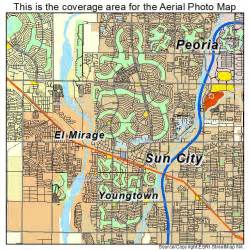 map of sun city arizona aerial photography map of sun city az arizona