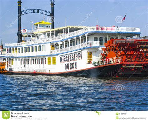 barco de vapor del rio misisipi barco del vapor de la reina de mississippi fotograf 237 a