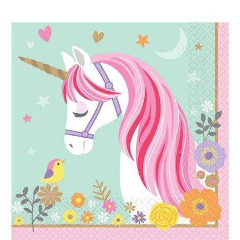 imagenes de unicornios magicos comprar servilletas unicornio m 225 gico 16 online env 237 o en
