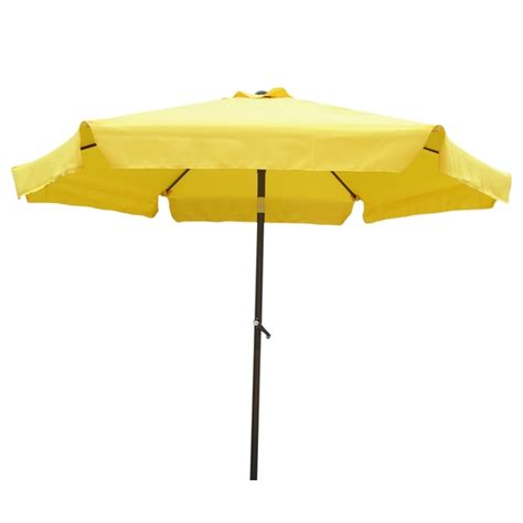 International Caravan Steel Rib 8 Foot Patio Umbrella Overstock Patio Umbrella