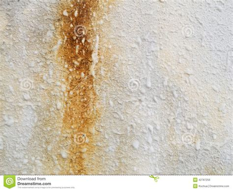 how to remove water stains from painted walls water stained concrete wall stock photo image 42787256