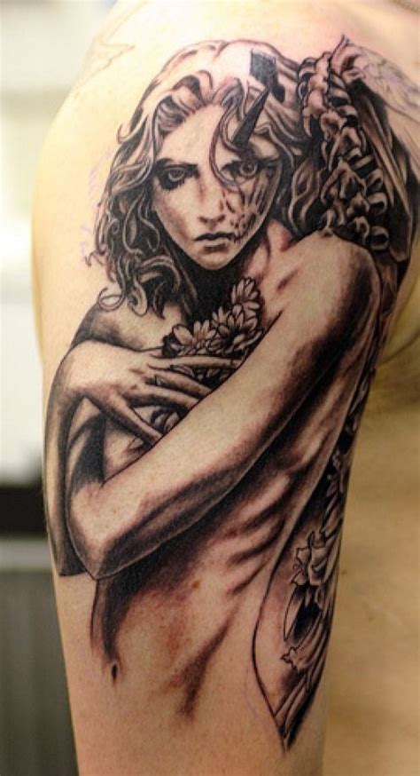 small gothic tattoos designs pictures images photos