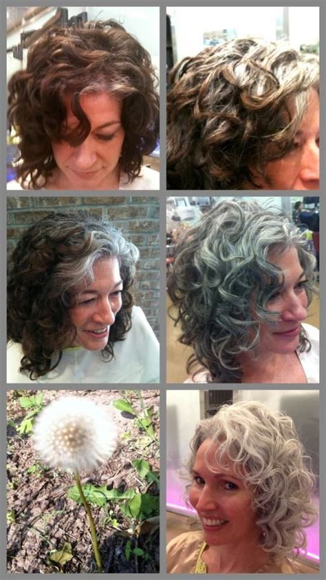 images of grey hair in transisition 17 best images about gray hair transition on pinterest