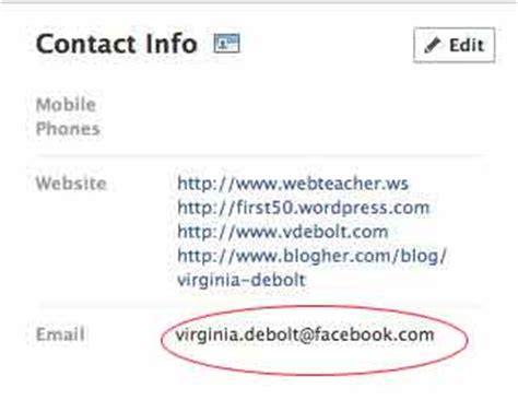 what's your favorite email address? facebook knows. | web