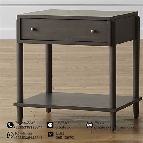 Meja Nakas nakas minimalis nordic createak furniture createak