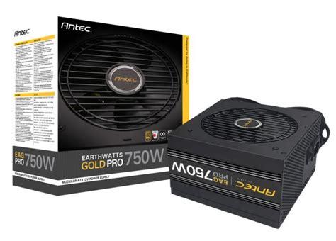 Dijamin Antec Ea Gold Pro 650w Ea650g Pro 80 Gold Modular antec annonce ses alimentations earthwatts gold pro