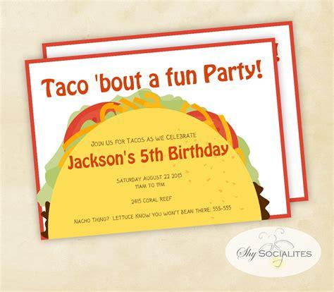Taco Party Clip Art 43 Taco Invitation Template