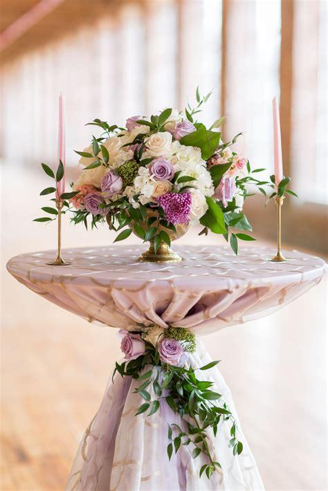 lavender weddings wedding ideas cocktail table