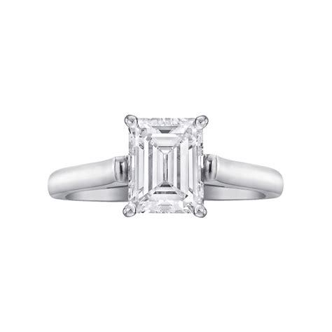 estate co 1 53 carat emerald cut