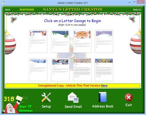 santa s letter creator