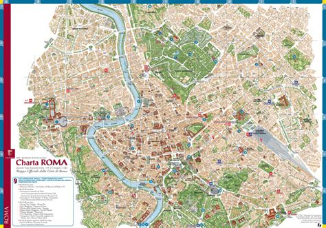 maps of rome rome info