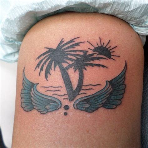tattoo shops destin fl by tattoosbybus palm trees waves sunshinestate