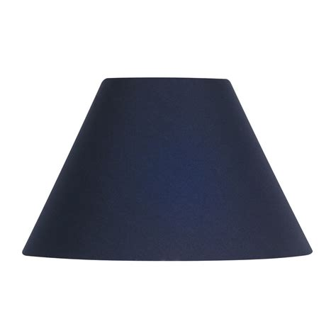 16 inch l shade navy cotton coolie l shade 16 inch s501 16na oaks