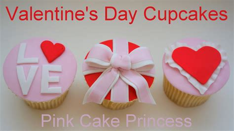5 Delish And Ideas For Valentines Day by S Day Cupcakes How To By Pink Cake Princess