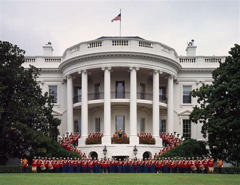 number to the white house file united states marine band at the white house jpg wikimedia commons