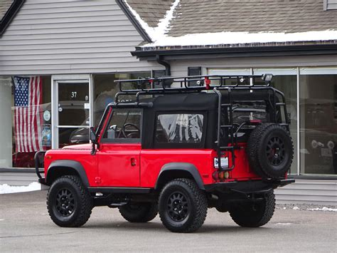 land rover defender convertible 1997 land rover defender 90 convertible copley motorcars