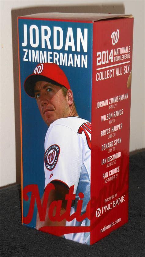 zimmerman bobblehead sold out zimmermann 2014 bobblehead washington