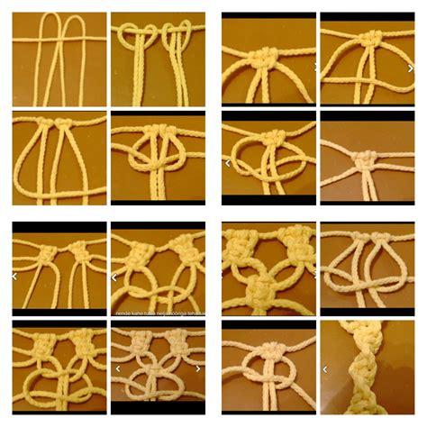 nudos de macrame nudos basicos macrame macrame pinterest nudo