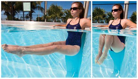ejercicios de piernas en el agua 7 ejercicios para hacer en el agua 161 ponte en forma
