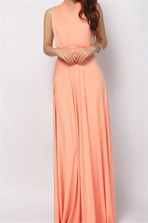 Salmon Dress salmon colored bridesmaid dress www imgkid the