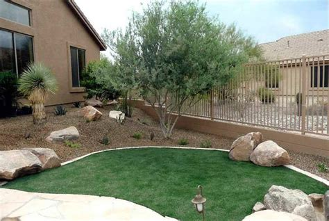 Desert Landscape Ideas For Backyards Backyard Landscaping Ideas For Relaxing And Mind At Home